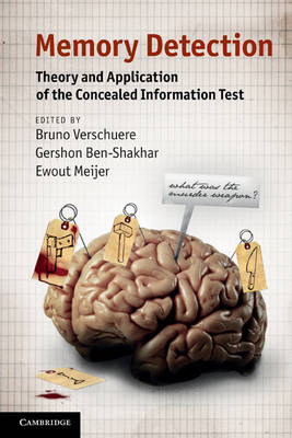 Memory Detection: Theory and Application of the Concealed Information Test (Paperback)