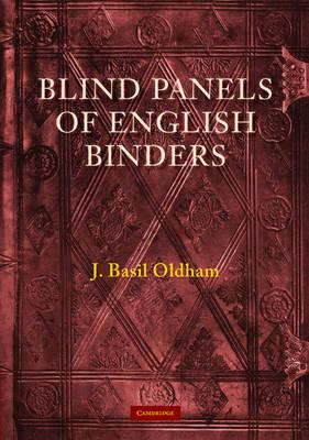 Blind Panels of English Binders (Paperback)