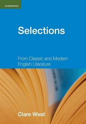 Selections Teacher's Book: From Classic and Modern English Literature - Georgian Press (Paperback)