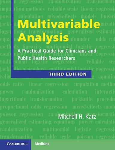Multivariable Analysis: A Practical Guide for Clinicians and Public Health Researchers (Paperback)