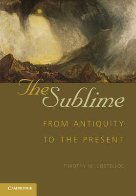 The Sublime: From Antiquity to the Present (Paperback)
