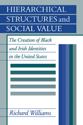 Hierarchical Structures and Social Value: The Creation of Black and Irish Identities in the United States (Paperback)