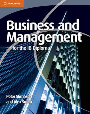 Business and Management for the IB Diploma - IB Diploma (Paperback)