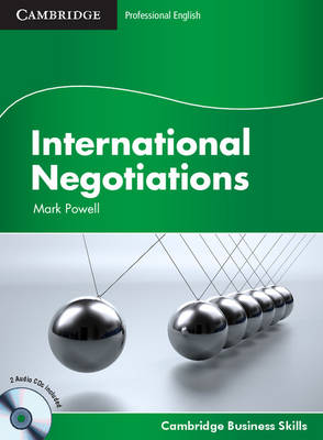 Cambridge Business Skills: International Negotiations Student's Book with Audio CDs (2)