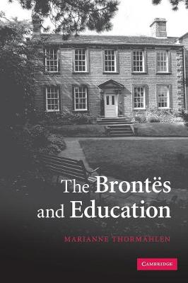 The Brontes and Education (Paperback)