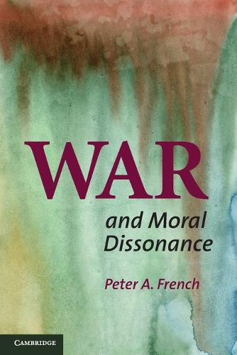 War and Moral Dissonance (Paperback)