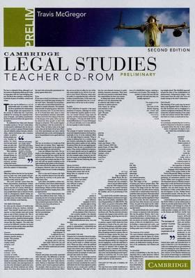 Cambridge Preliminary Legal Studies Second Edition Teacher CD-Rom (CD-ROM)