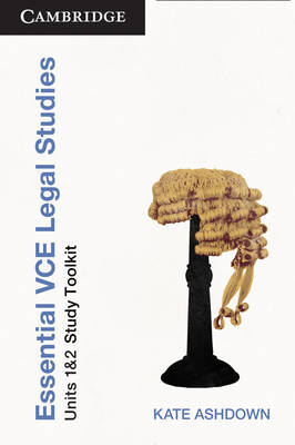 Essential VCE Legal Studies Units 1 and 2 Second Edition Toolkit (Paperback)