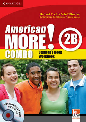 American More! Level 2 Combo B with Audio CD and CD-ROM