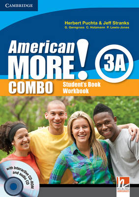 American More! Level 3 Combo a with Audio CD/CD-ROM