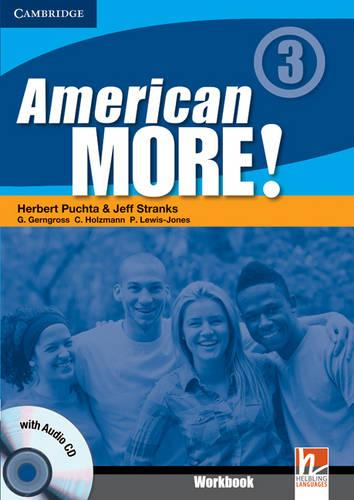 American More! Level 3 Workbook with Audio CD