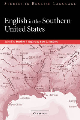 English in the Southern United States - Studies in English Language (Paperback)