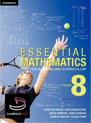 Cover Essential Mathematics for the Australian Curriculum Year 8