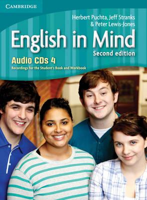 English in Mind Level 4 Audio CDs (4) (CD-Audio)