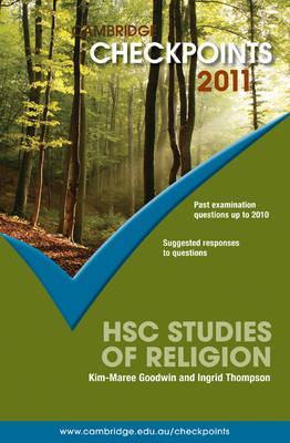 Cambridge Checkpoints HSC Studies of Religion 2011 - Cambridge Checkpoints (Paperback)