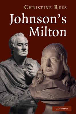 Johnson's Milton (Hardback)