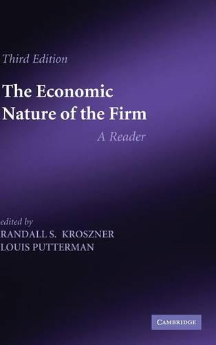 The Economic Nature of the Firm: A Reader (Hardback)