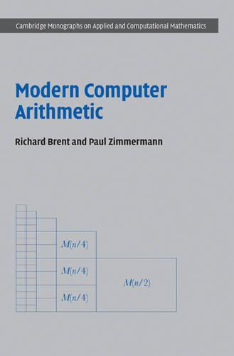 Modern Computer Arithmetic - Cambridge Monographs on Applied and Computational Mathematics 18 (Hardback)