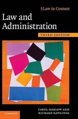 Law in Context: Law and Administration (Hardback)