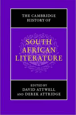 The Cambridge History of South African Literature (Hardback)