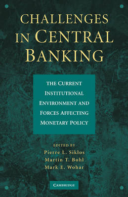 Challenges in Central Banking: The Current Institutional Environment and Forces Affecting Monetary Policy (Hardback)