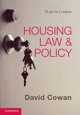 Housing Law and Policy - Law in Context (Hardback)