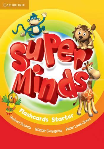 Super Minds Starter Flashcards (pack of 78)