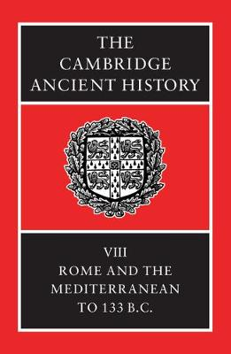 The Cambridge Ancient History - The Cambridge Ancient History Volume 8 (Hardback)