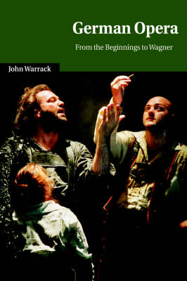 German Opera: From the Beginnings to Wagner - Cambridge Studies in Opera (Hardback)