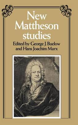 New Mattheson Studies (Hardback)