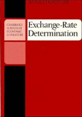 Exchange-Rate Determination - Cambridge Surveys of Economic Literature (Paperback)