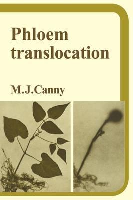 Phloem Translocation (Paperback)