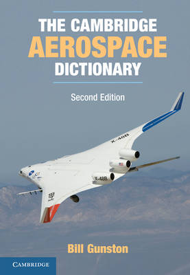 The Cambridge Aerospace Dictionary - Cambridge Aerospace Series (Paperback)
