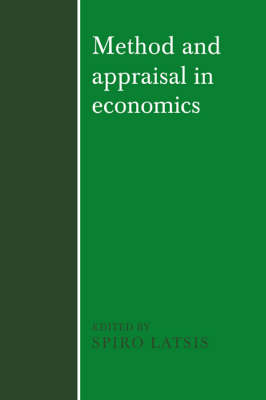 Method and Appraisal in Economics (Paperback)
