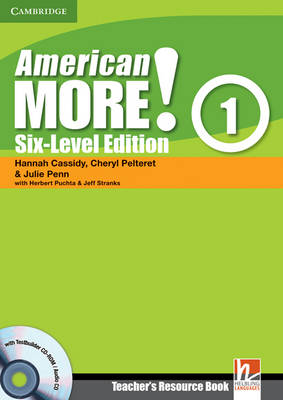 American More! Six-Level Edition Level 1 Teacher's Resource Book with Testbuilder CD-ROM/Audio CD