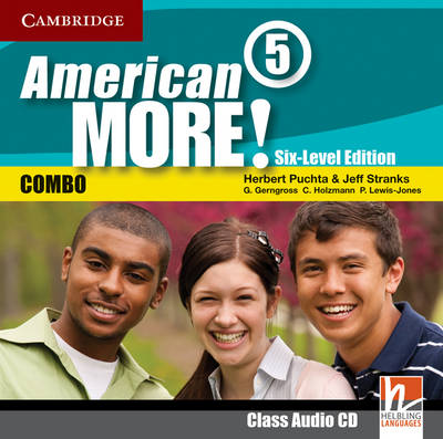 American More! Six-Level Edition Level 5 Class Audio CD (CD-Audio)