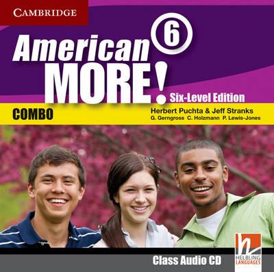 American More! Six-Level Edition Level 6 Class Audio CD (CD-Audio)