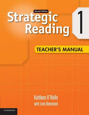 Strategic Reading Level 1 Teacher's Manual: Strategic Reading Level 1 Teacher's Manual Level 1 (Paperback)
