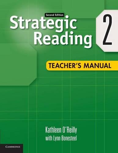 Strategic Reading Level 2 Teacher's Manual (Paperback)