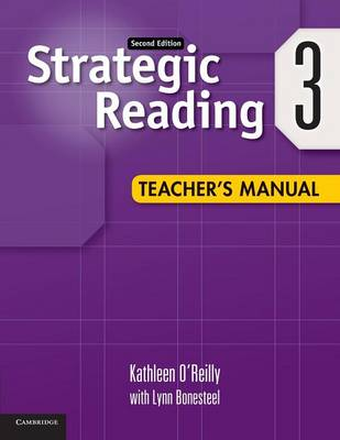 Strategic Reading Level 3 Teacher's Manual: Strategic Reading Level 3 Teacher's Manual 3 (Paperback)