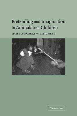 Pretending and Imagination in Animals and Children (Paperback)
