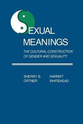 Sexual Meanings: The Cultural Construction of Gender and Sexuality (Paperback)