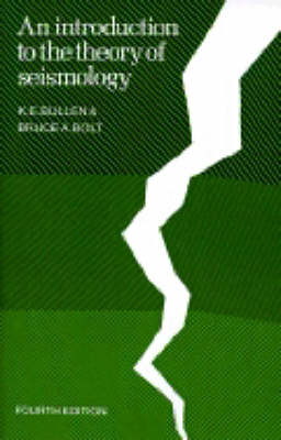 An Introduction to the Theory of Seismology (Paperback)