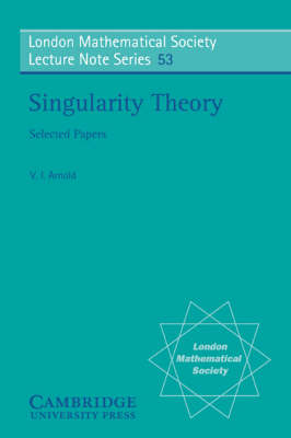 Singularity Theory - London Mathematical Society Lecture Note Series (Paperback)