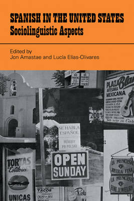 Spanish in the United States: Sociolinguistic Aspects (Paperback)