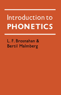 Introduction to Phonetics (Paperback)