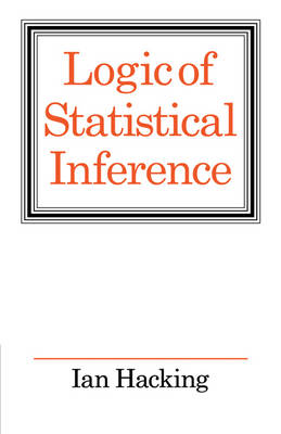 Logic of Statistical Inference (Paperback)