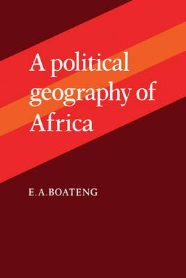 A Political Geography of Africa (Paperback)