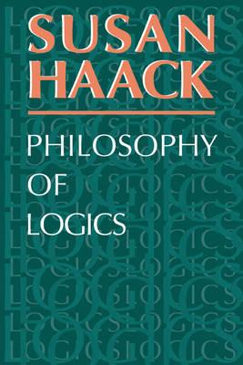 Philosophy of Logics (Paperback)