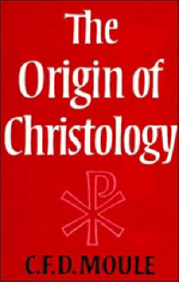 Cover The Origin of Christology
